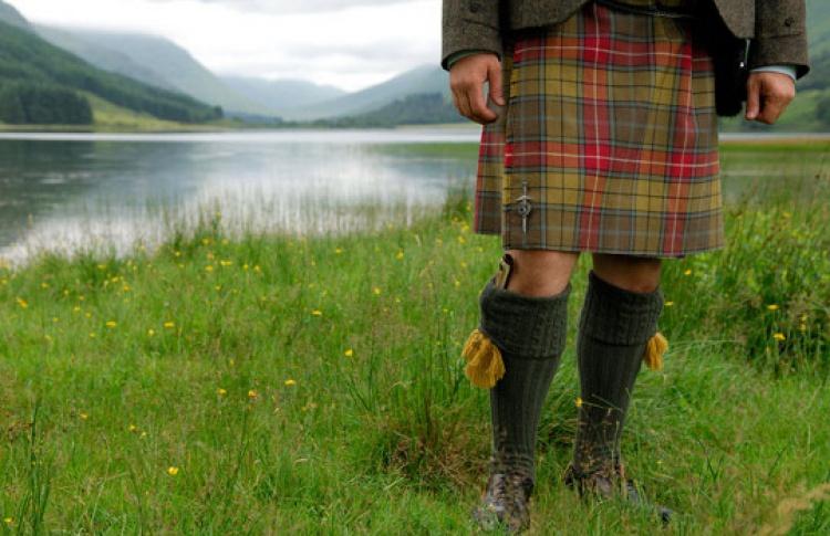 Открытие Дней Шотландии