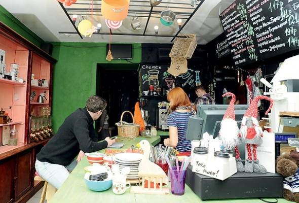Кофе на кухне - Фото №0