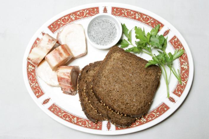 Рецепт: Закуска «Московская»