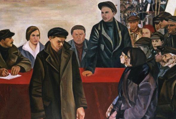Рабочие и колхозницы - Фото №1