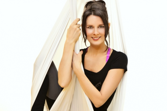Новый тренд: йога вгамаке
