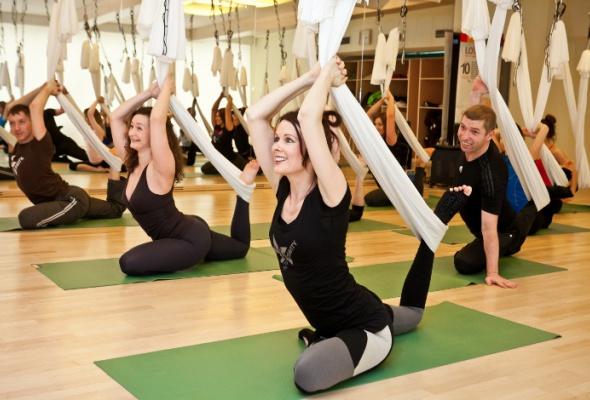 Новый тренд: йога вгамаке - Фото №4