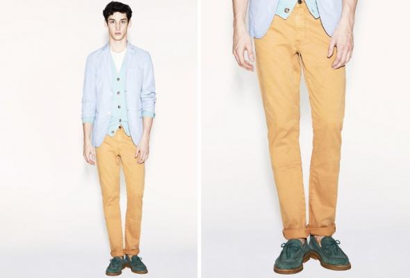 Uniqlo представил коллекцию ярких брюк - Фото №1