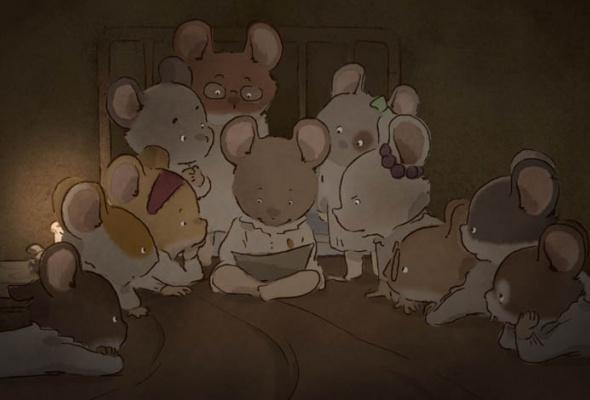 Эрнест и Селестина: Приключения мышки и медведя - Фото №0