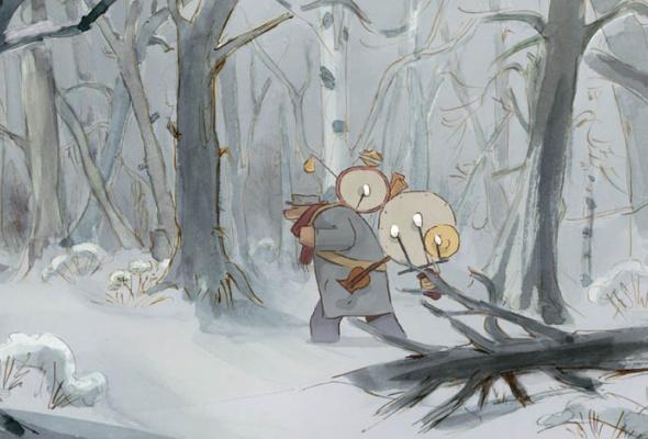 Эрнест и Селестина: Приключения мышки и медведя - Фото №2
