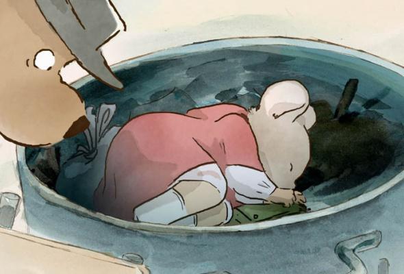 Эрнест и Селестина: Приключения мышки и медведя - Фото №4
