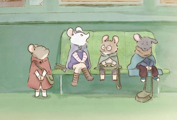 Эрнест и Селестина: Приключения мышки и медведя - Фото №5