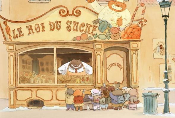 Эрнест и Селестина: Приключения мышки и медведя - Фото №7