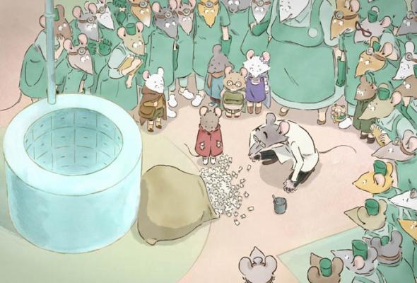 Эрнест и Селестина: Приключения мышки и медведя - Фото №8