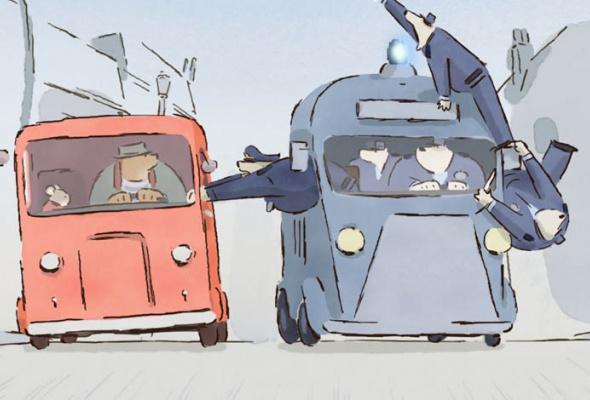Эрнест и Селестина: Приключения мышки и медведя - Фото №9