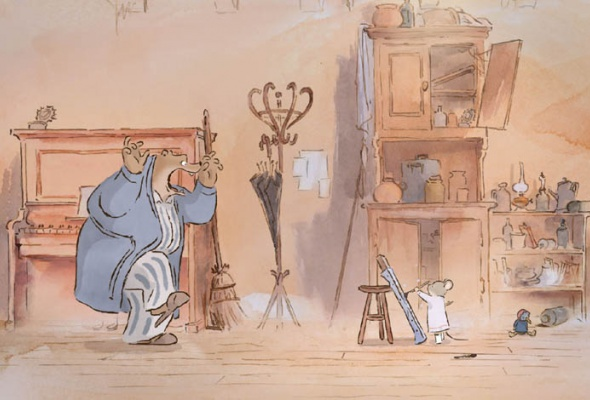 Эрнест и Селестина: Приключения мышки и медведя - Фото №10