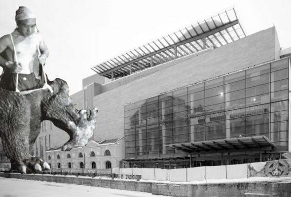 Совторой сцены Мариинского театра сняли строительные леса - Фото №0