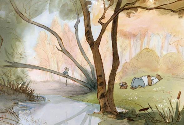 Эрнест и Селестина: Приключения мышки и медведя - Фото №12