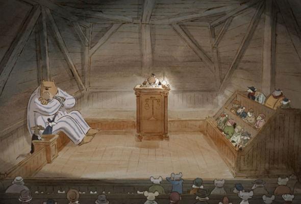 Эрнест и Селестина: Приключения мышки и медведя - Фото №14