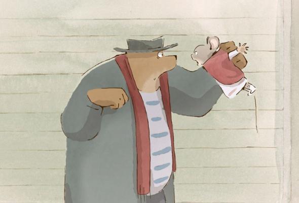 Эрнест и Селестина: Приключения мышки и медведя - Фото №16