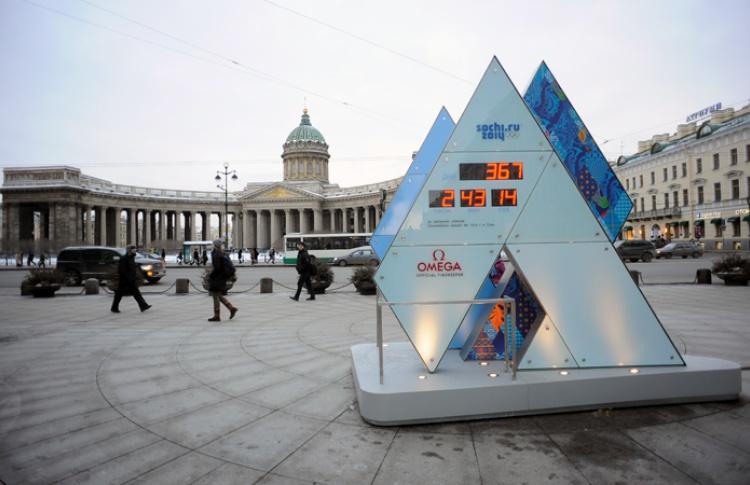 Олимпийские часы наМалой Конюшенной