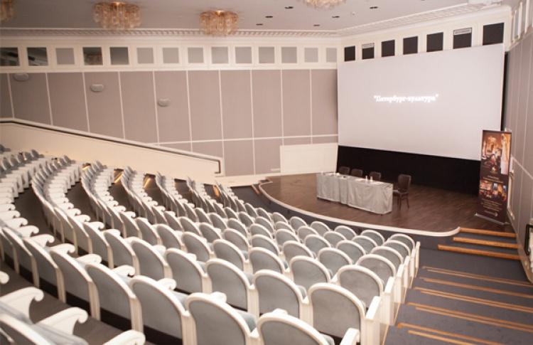 Открылся клубный кинотеатр вгостинице «Англетер»