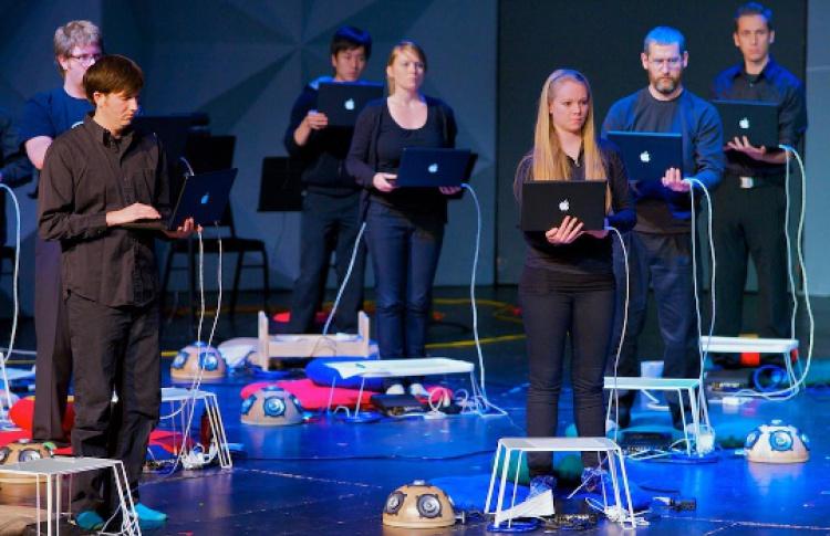 ВКупчино собирают оркестр ноутбуков
