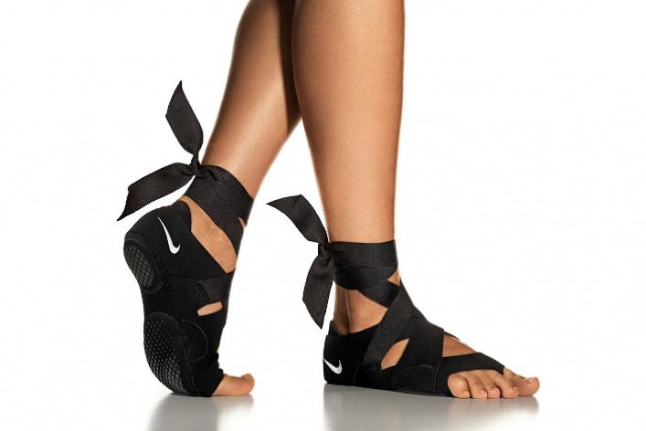 Nike выпустил обувь для занятий йогой ипилатесом