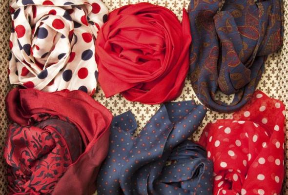 25ярких шарфов - Фото №0
