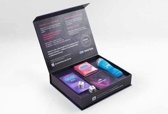 Durex выпустил Love Box вкачестве подарка к14февраля - Фото №1
