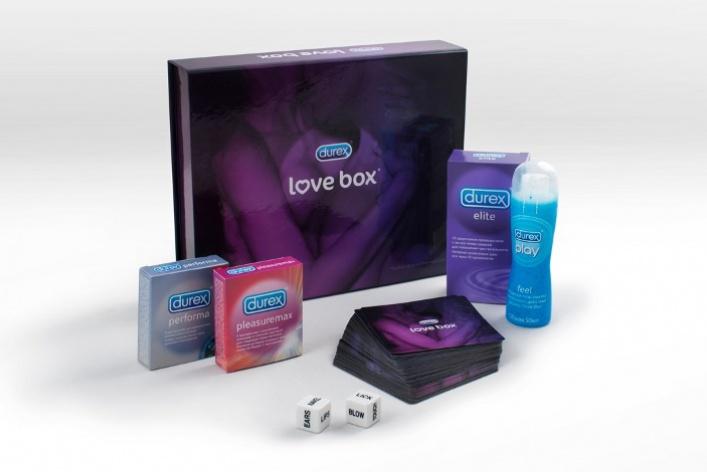 Durex выпустил Love Box вкачестве подарка к14февраля
