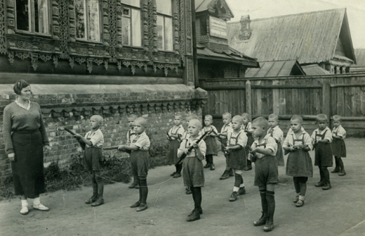 Репортаж из далеких 1930-х. Фотоматериалы из коллекции музея