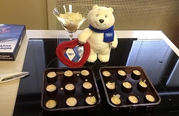 Официальные конфеты Олимпиады вСочи