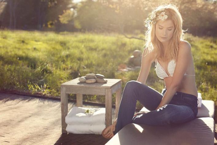Wrangler создал джинсы соспа-эффектом
