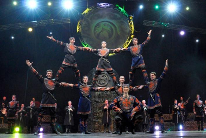 Легендарный грузинский ансамбль «Эрисиони», покоривший весь мир, выступит вМоскве!