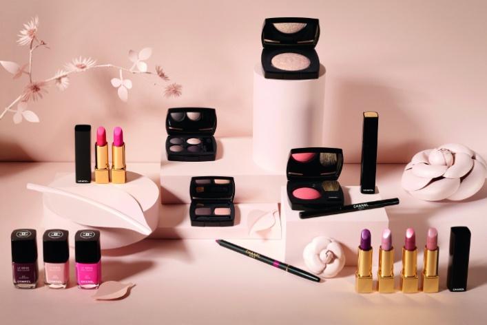 Весенняя коллекция макияжа отChanel