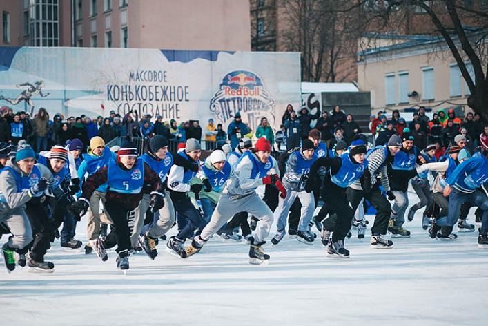 Конькобежцы вЮсуповском