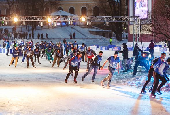 Конькобежцы вЮсуповском - Фото №5