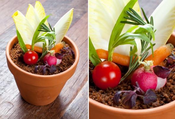 Тренд: еда вцветочных горшках - Фото №0