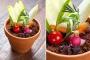 Тренд: еда вцветочных горшках