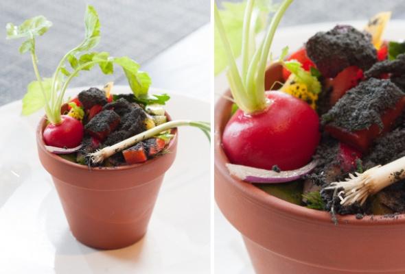 Тренд: еда вцветочных горшках - Фото №4