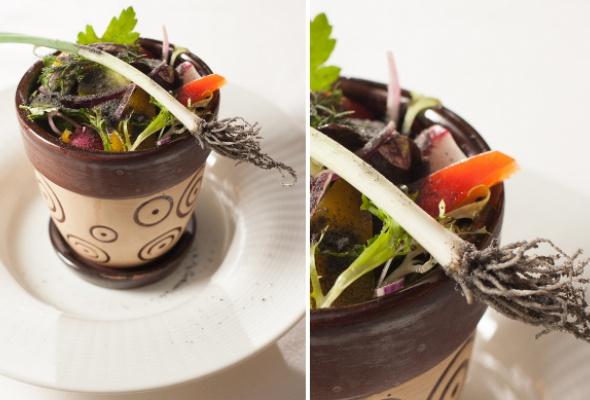 Тренд: еда вцветочных горшках - Фото №3