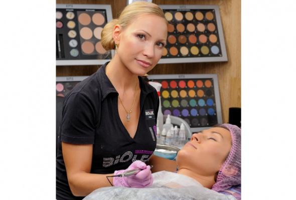 Модный тренд: перманентный макияж - Фото №1