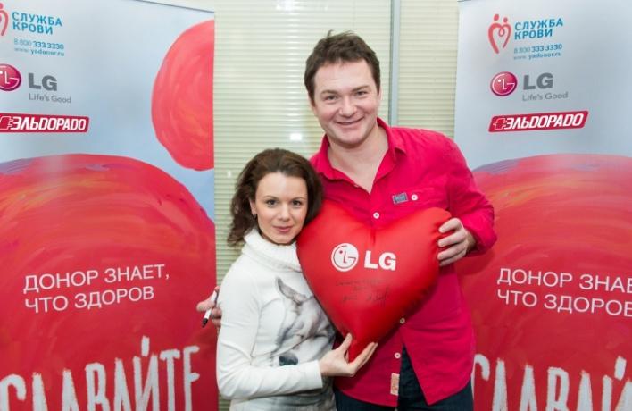 День донора LGElectronics и«Эльдорадо» состоялся вДень всех влюбленных