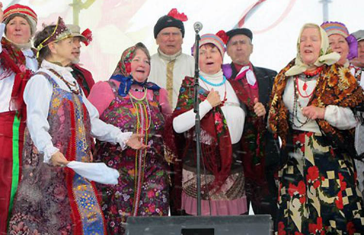 Праздник русской Масленицы