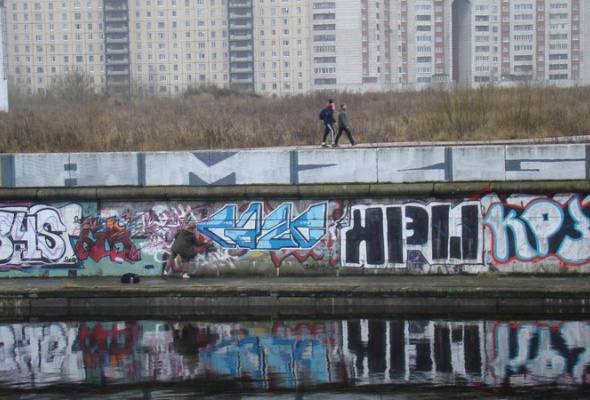 24февраля накраю Петербурга пройдет слет граффитистов. - Фото №0
