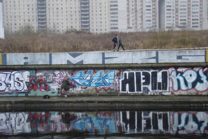 24февраля накраю Петербурга пройдет слет граффитистов.