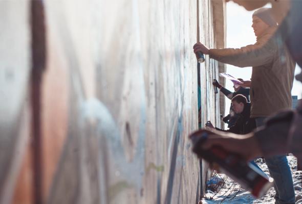 Встреча молодых граффитистов - Фото №1