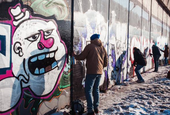 Встреча молодых граффитистов - Фото №5