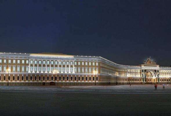 Выбран окончательный вариант освещения арки Генштаба - Фото №4