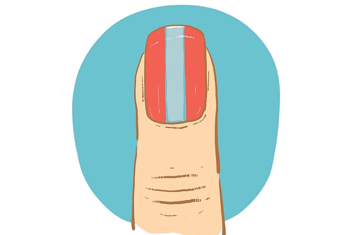 Ногти: уроки рисования