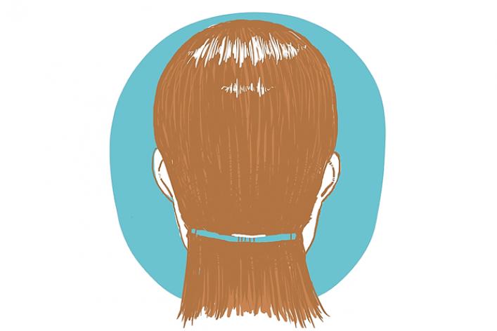 Волосы: снимаю шапку