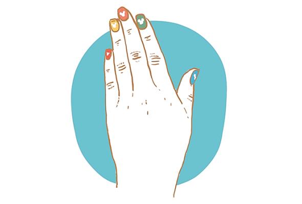 Смладых ногтей: салоны красоты для детей - Фото №1