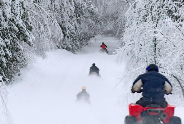 Снежная Лапландия - Фото №1