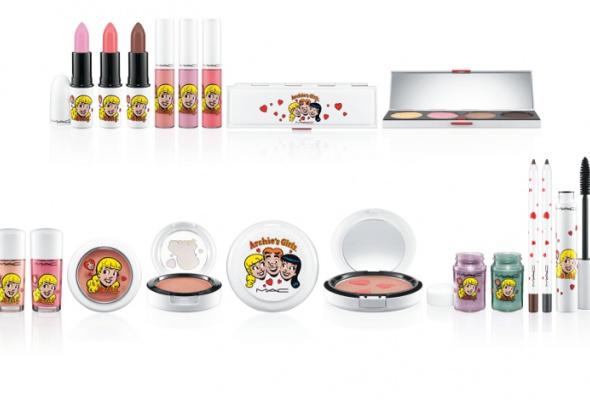 Мартовская коллекция макияжа Archie'sGirls отMAC - Фото №1